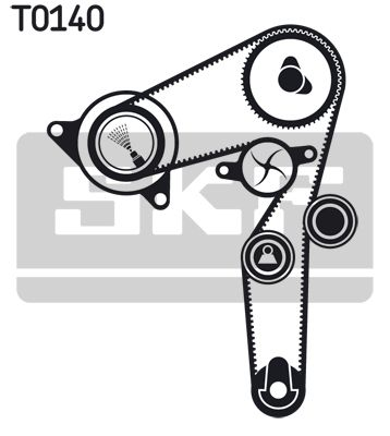Zahnriemen Kit VKMA 02199 SKF VKM22180 in Original Qualität