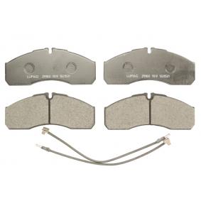 Bremsbelagsatz, Scheibenbremse Höhe: 68mm, Dicke/Stärke: 20,30mm mit OEM-Nummer 42536101