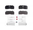 OEM Brake Pad Set, disc brake 29284 00 914 00 from LUMAG