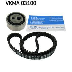 Timing Belt Set VKMA 03100 206 Hatchback (2A/C) 1.1 i MY 1999