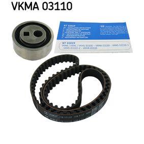 Timing Belt Set VKMA 03110 206 Hatchback (2A/C) 1.4 i MY 2005