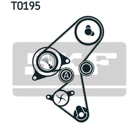 Zahnriemensatz mit OEM-Nummer 0816 E4