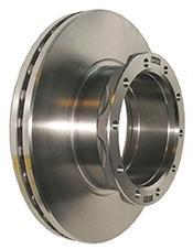 KNORR-BREMSE  K069333 Bremsscheibe Bremsscheibendicke: 45mm, Lochanzahl: 10, Ø: 432mm, Ø: 432mm