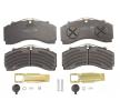 OEM Комплект спирачно феродо, дискови спирачки K035471K50 от KNORR-BREMSE