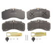 OEM Brake Pad Set, disc brake K035471K50 from KNORR-BREMSE