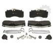 Brake Pad Set, disc brake K078206K50 OEM part number K078206K50