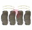 OEM Bremsbelagsatz, Scheibenbremse MDP5065 von MERITOR