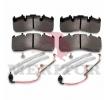 OEM Bremsbelagsatz, Scheibenbremse MDP5102 von MERITOR