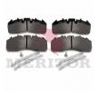 OEM Комплект спирачно феродо, дискови спирачки MDP5104 от MERITOR