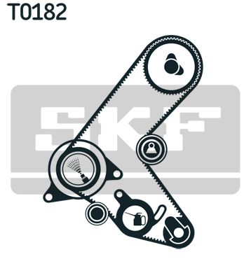 Zahnriemen Kit VKMA 05606 SKF VKMT05609 in Original Qualität