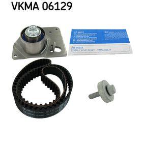 Kit cinghie dentate (VKMA 06129) per per Cinghia Distribuzione e Kit Cinghia Distribuzione RENAULT SCÉNIC II (JM0/1_) 1.9 dCi dal Anno 06.2003 125 CV di SKF