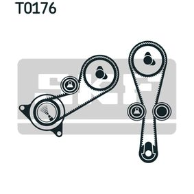 Zahnriemensatz mit OEM-Nummer LHV 100160