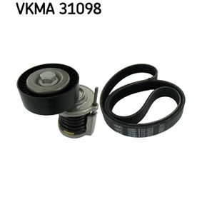 Passat B6 2.0TDI Keilrippenriemensatz SKF VKMA 31098 (2.0 TDI Diesel 2006 CBAA)