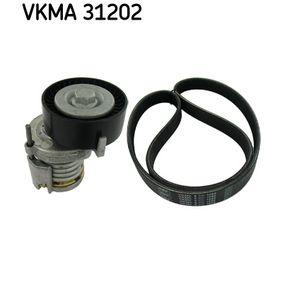V-Ribbed Belt Set Length: 1070mm, Number of ribs: 6 with OEM Number 9675874480