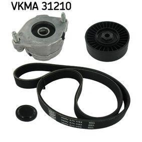 Keilrippenriemensatz VKMA 31210 Golf 4 Cabrio (1E7) 1.6 Bj 2002