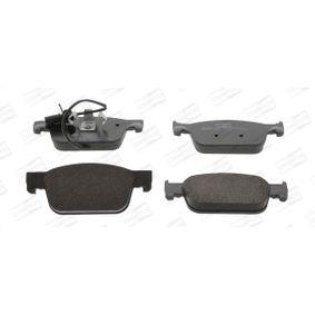 Bremsbelagsatz, Scheibenbremse Höhe 1: 64,1mm, Dicke/Stärke: 17,1mm mit OEM-Nummer 8W0 698 151 AG