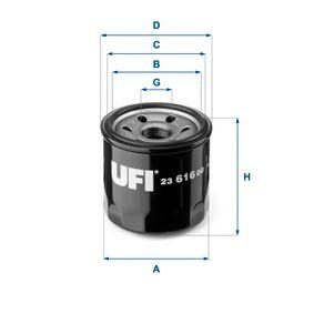 Filtro de aceite 23.616.00 CX-5 (KE, GH) 2.0AWD ac 2014