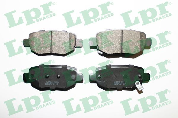 LPR  05P2011 Bremsbelagsatz, Scheibenbremse Breite: 100mm, Höhe: 40,5mm, Dicke/Stärke: 16,3mm