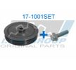 Zahnriemenscheiben: IJS GROUP 171001SET Riemenscheibensatz, Kurbelwelle