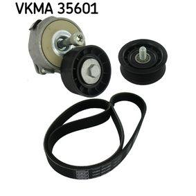 V-Ribbed Belt Set Length: 1050mm, Number of ribs: 6 with OEM Number 93181138