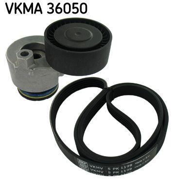 SKF  VKMA 36050 Keilrippenriemensatz Länge: 1199mm, Rippenanzahl: 5