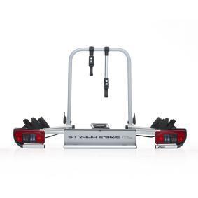 Cykelhållare, bakräcke min. cykel-ramhöjd: 20mm, max. cykelramstorlek: 80mm 022696
