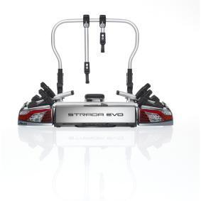 Fietsendrager op achterklep Max. fiets framehoogte: 80mm, Min. fietsframe hoogte: 25mm 022700