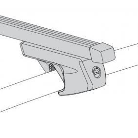 Rails de toit / barres de toit Longueur: 122cm 048122