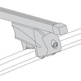 Barre portapacchi / barre portatutto Lunghezza: 122cm 048422 FIAT PANDA, 500