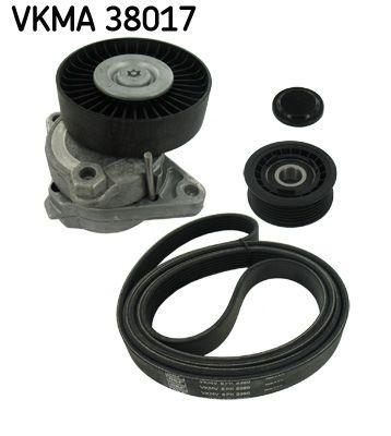 SKF  VKMA 38017 Keilrippenriemensatz Länge: 2390mm, Rippenanzahl: 6