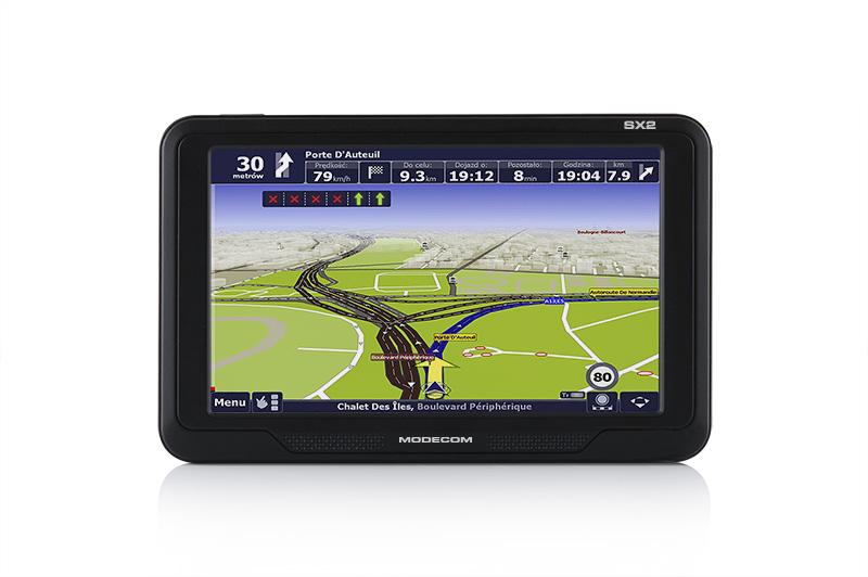 Navigationssystem FREEWAY SX2 EU MODECOM FREEWAY SX2 EU in Original Qualität