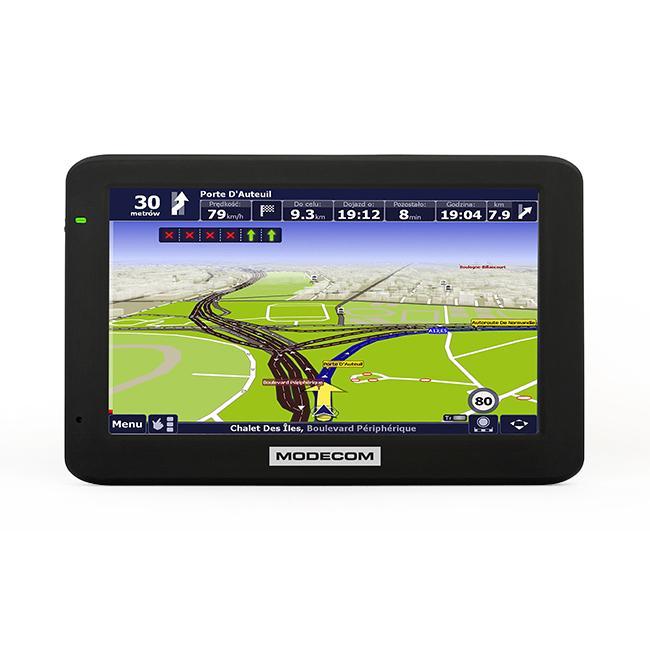 Navigační systém MODECOM FREEWAYMX4HD odborné znalosti
