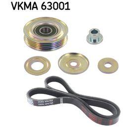 V-Ribbed Belt Set Length: 795mm, Number of ribs: 4 with OEM Number 38942-P01-003