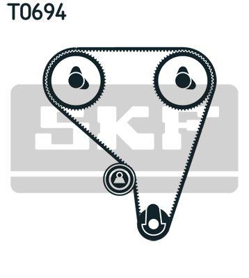 Timing Belt & Timing Belt Kit SKF VKM71010 rating