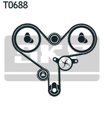 Timing Belt & Timing Belt Kit SKF VKM81000 rating