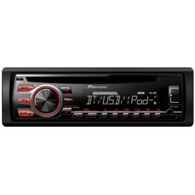 Stereo vykon: 4x50W DEH09BT