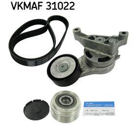 Комплект пистов ремък VKMAF 31022 Golf 5 (1K1) 1.9 TDI Г.П. 2006