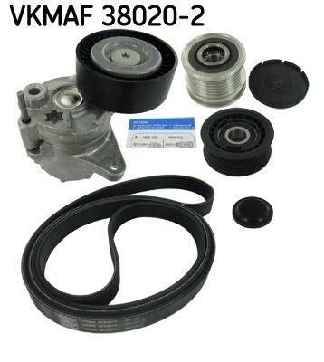 SKF  VKMAF 38020-2 Keilrippenriemensatz Länge: 2270mm, Rippenanzahl: 6