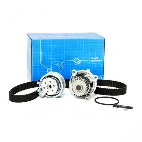 Kit cinghia distribuzione, pompa acqua VKMC 01113-1 GOLF 6 (5K1) 1.6 BiFuel ac 2012