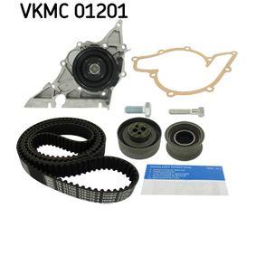 SKF Wasserpumpe + Zahnriemensatz VKMC 01201 für AUDI 80 (8C, B4) 2.8 quattro ab Baujahr 09.1991, 174 PS