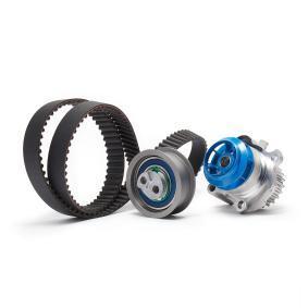 Kit cinghia distribuzione, pompa acqua VKMC 01222 GOLF 6 (5K1) 2.0 GTi ac 2012