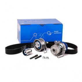 SKF Wasserpumpe + Zahnriemensatz VKMC 01250-1 für AUDI A4 (8E2, B6) 1.9 TDI ab Baujahr 11.2000, 130 PS