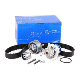 Kit cinghia distribuzione, pompa acqua VKMC 01250-2 Golf 5 (1K1) 1.9TDI 4motion ac 2006