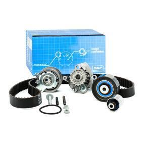 Water pump and timing belt kit with OEM Number N 015 083 15