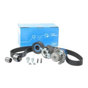 Kit cinghia distribuzione, pompa acqua VKMC 01263-1 GOLF 6 (5K1) 2.0 TDI ac 2010