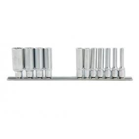 """Jogo de chaves de caixa Dimensões da manivela quadrada: 6,3 (1/4"""")mm (pol.), Abertura: 5/32"""", 3/16"""", 7/32"""", 1/4"""", 9/32"""", 5/16"""", 11/32"""", 3/8"""", 7/16"""", 1/2"""", 9/16"""""""