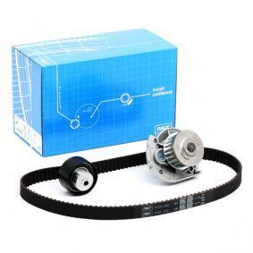 Water Pump & Timing Belt Set VKMC 02204-2 PUNTO (188) 1.2 16V 80 MY 2002