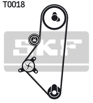 Zahnriemensatz mit Wasserpumpe SKF VKMA03201 Bewertung