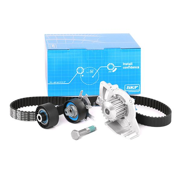 Timing belt kit and water pump VKMC 03257 SKF VKPC83643 original quality