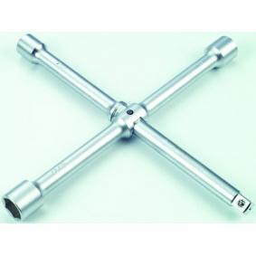 Four-way lug wrench Length: 300mm 681A300